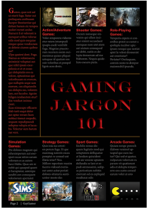 Layout Example (Magazine Page)