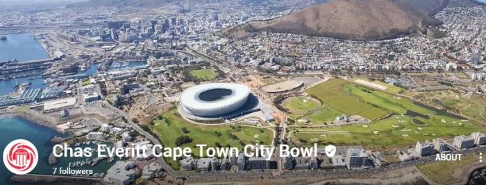 Chas Everitt Cape Town City Bowl Google Plus page